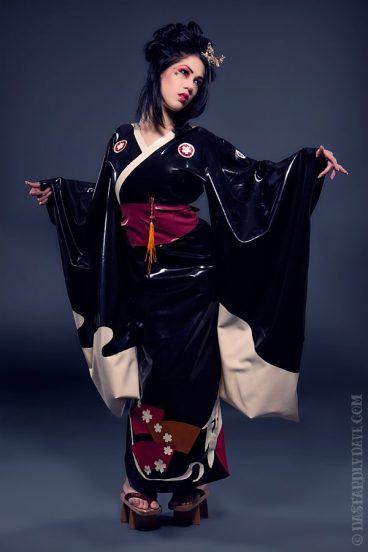 Kimonos  Product Categories  Dawnamatrix Latex Clothing
