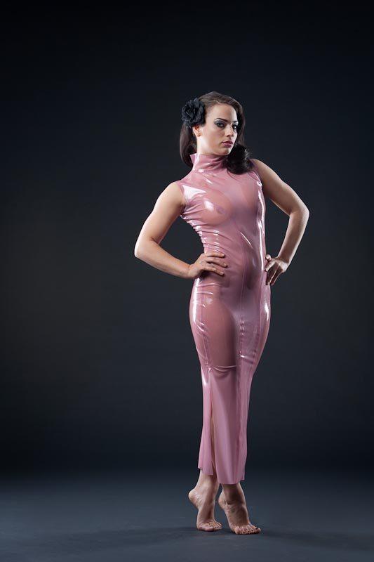 Elegant Gown  Dawnamatrix Latex Clothing