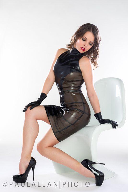 Glitterazzi Dress  Dawnamatrix Latex Clothing