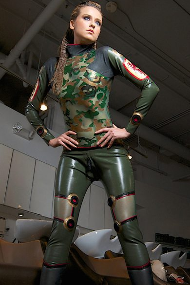 Military Plugsuit  Dawnamatrix Latex Clothing
