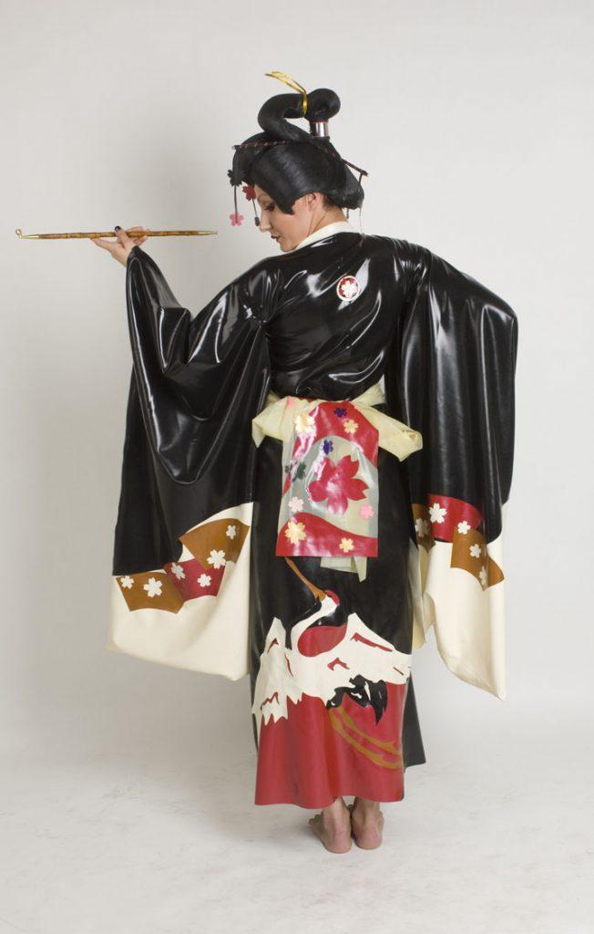 Kimono Lookbook  Dawnamatrix Latex Clothing