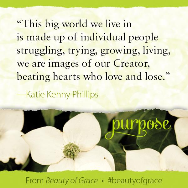 Katie Kenny Phillips The Beauty of Grace #beautyofgrace
