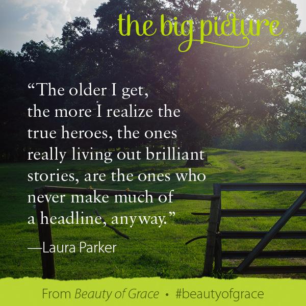 Laura Parker The Beauty of Grace #beautyofgrace