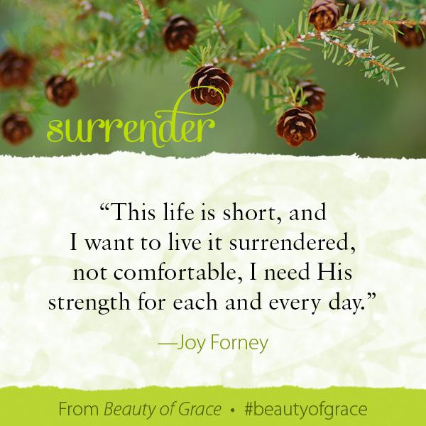 Joy Forney The Beauty of Grace #beautyofgrace