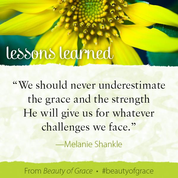 Melanie Shankle The Beauty of Grace #beautyofgrace