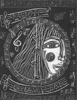Scratchboard Music Guardian