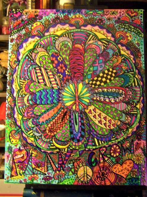 Big Flower Mandala