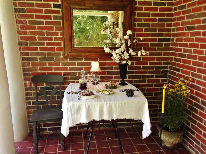 Staged Front Porch, Exterior Designs, Dawn D Totty Designs