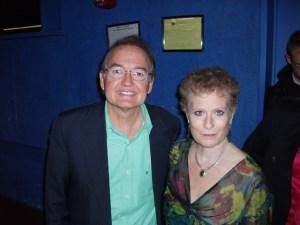 Suzanne Kellner-Zinck with John Gray