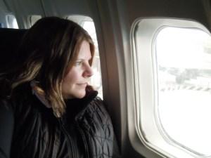 Heidi is ready to enjoy the jet set lifestyle