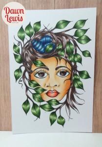 Leafy Lady reduced