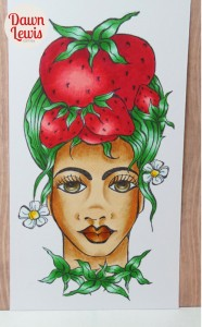 Strawberry Lady reduced