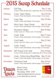 2015 Swap schedule proof