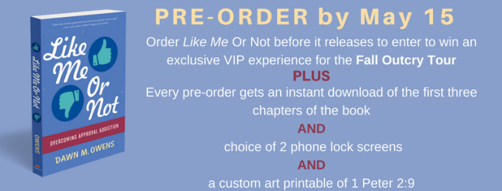 Like Me or Not Pre-Order Information
