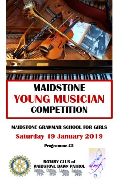 Maidstone Young Musician Competition 2019 Programme
