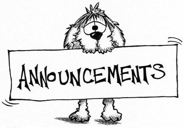 Announcements/ Syllabus/ Current Events/ Projects