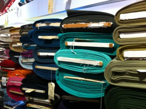 A wide variety of Italian wool suiting fabric at Gala Fabrics in Victoria