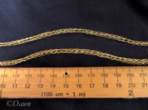 Necklace chain for my Byzantine costume