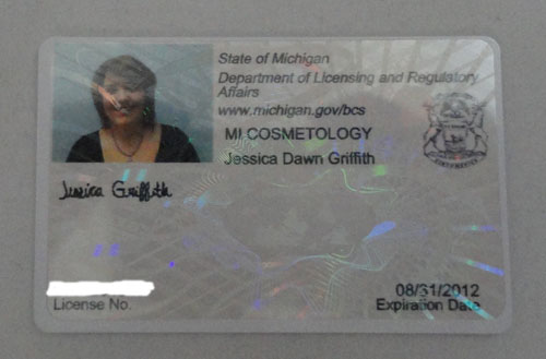 Jessie S Cosmetology License Dawn Sunday Share 11 6 2017 Sting Thoughts Pedicure Training