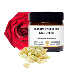 AMPHORA FRANKINCENSE AND ROSE FACE CREAM