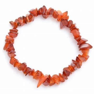 Carnelian Chip Bracelet