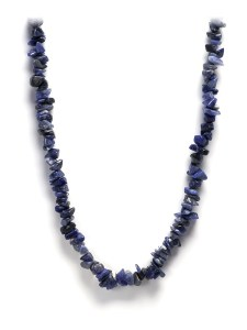 SODALITE CHIP NECKLACE 1