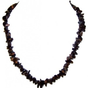 Blue Tiger's Eye Chip necklace