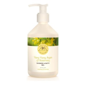 AA Skincare - Ylang Ylang, Argan & Rosemary Shower & Bath Gel 500ml