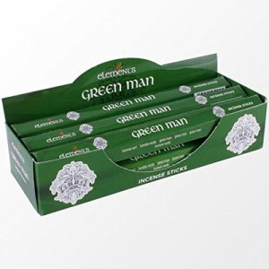 Elements Green Man Incense Sticks. ​1 pack of 20 sticks.