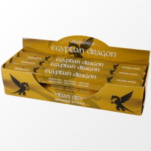 Two Packs Of Elements Egyptian Dragon Incense Sticks