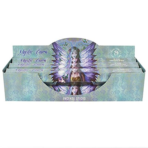 2 Packs Of Mystic aura incense by Anne Stokes