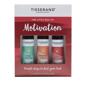 Tisserand Aromatherapy- Little Box Of Motivation by Tisserand Aromatherapy