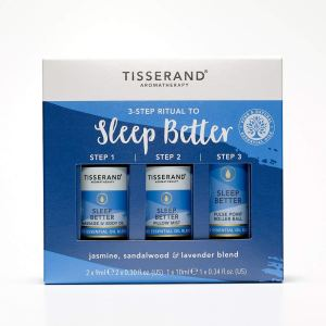Tisserand Three Step Ritual To Sleep Better by Tisserand Aromatherapy