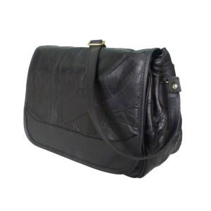 Black Kirsty leather Crossbody Bag