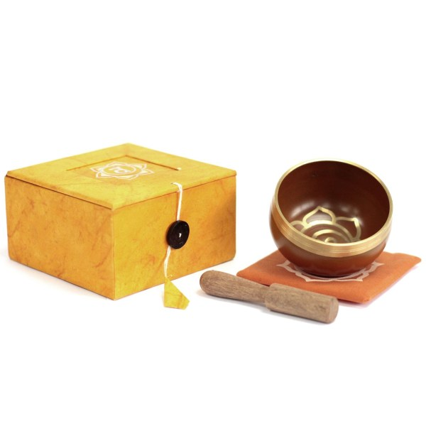 Chakra Singing Bowl Gift Set- Navel Chakra