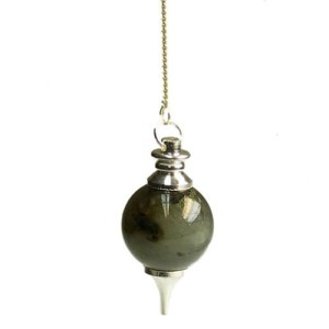Labradorite Sphere Pendulum