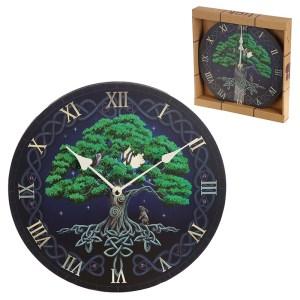 Decorative Fantasy Tree of Life Wall Clock