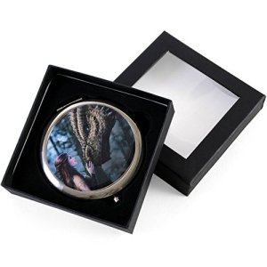 Once Upon A Time Dragon Art Compact Mirror By Anne
