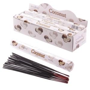 Stamford Hex Incense Sticks Coconut