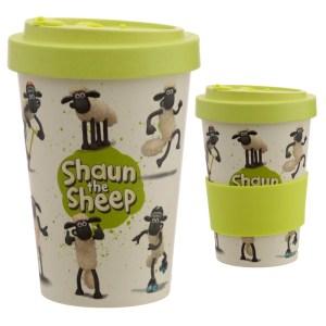 Bamboo Composite Shaun the Sheep Screw Top Travel Mug