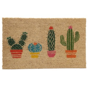 Coir Door Mat - Cactus
