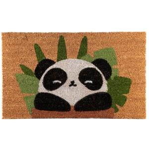 Coir Door Mat - Panda Design