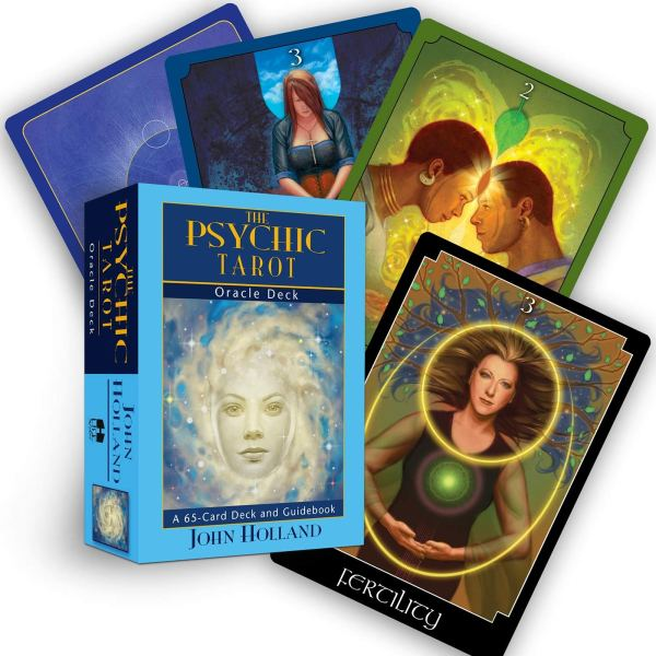 The Psychic Tarot Oracle Deck Cards by John Holland Author