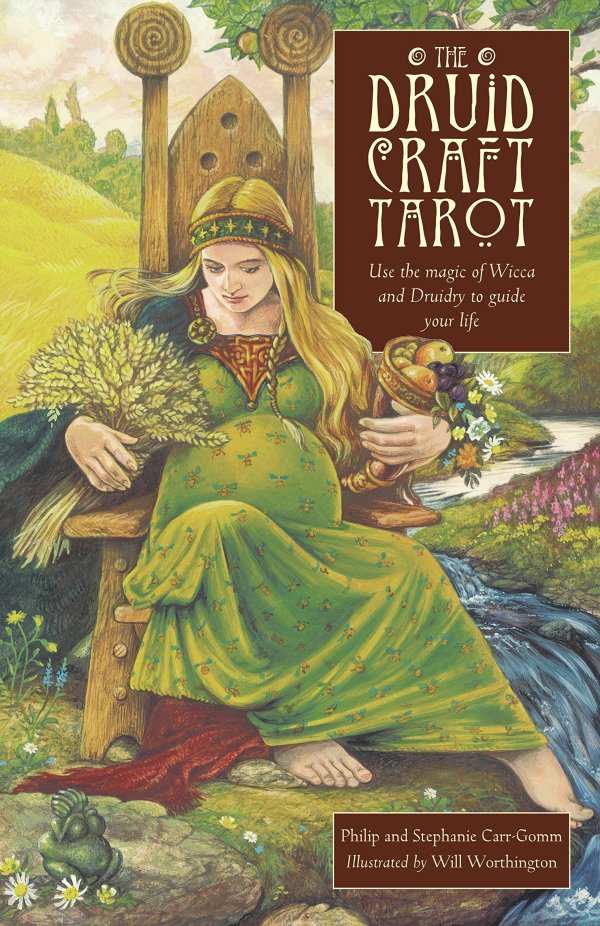 THE DRUID CRAFT TAROT CARDS BY PHILIP AND STEPHANIE CARR-G