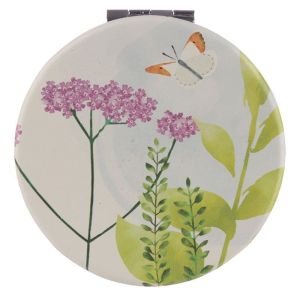 Collectable Botanical Butterfly Design Compact Mirror 1