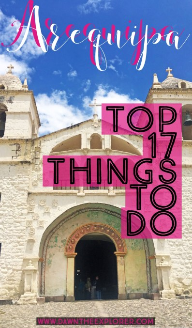 Things to do in Arequipa