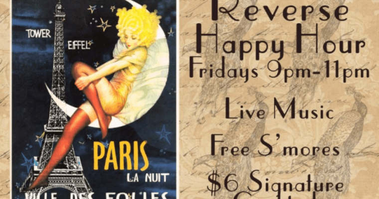 827Ray's Introduces Reverse Happy Cocktail, Music & S'more Hours every Friday