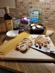 Leftover Turkey: Creamy Chipotle One Skillet Pasta