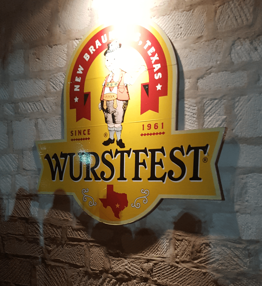 Happening now…WURSTFEST New Braunfels 2017