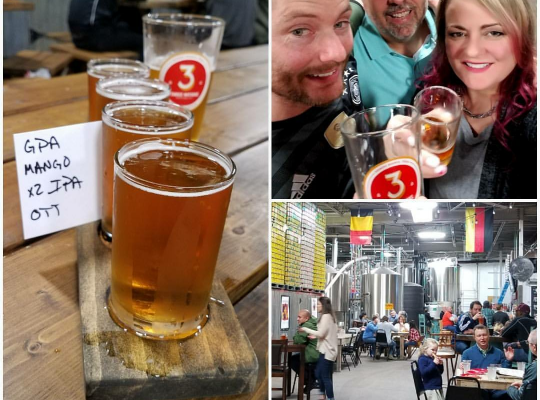 3 Nations Brewing (Farmers Branch, TX; Dallas): Visit The Brewery